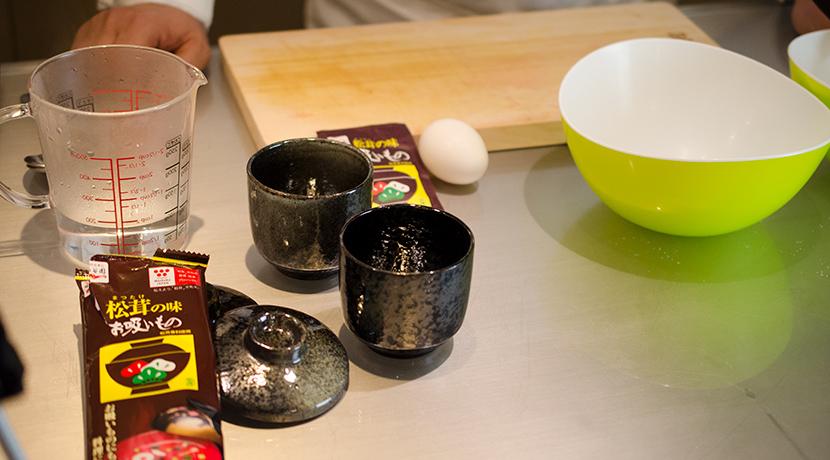 レンジで簡単おいしい茶碗蒸し 材料