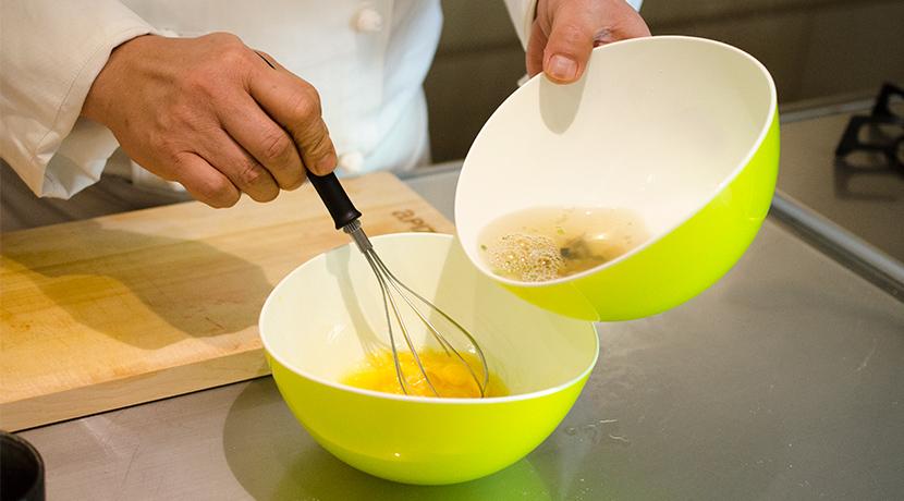 レンジで簡単おいしい茶碗蒸し 作り方1