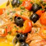 昆布だしで作る真鯛の簡単アクアパッツァ