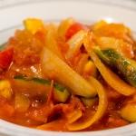 基本!トマトソースとラタトゥイユ(夏野菜のトマト煮込み)