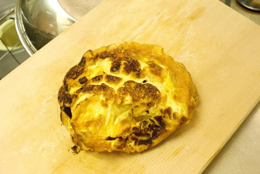 ムッシュ高木の裏ワザレシピ:スパニッシュオムレツ(スペイン風オムレツ) - 焼き上がり