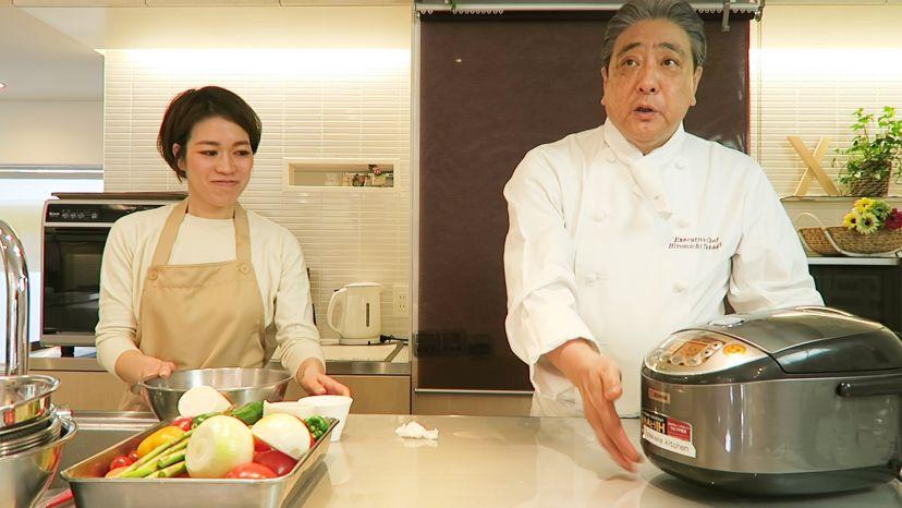 ムッシュ高木の料理の基本:お米の炊き方 - あとは炊くだけ