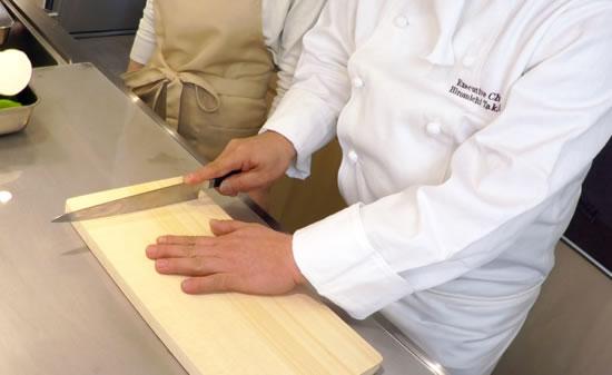 【料理の基本1】包丁の持ち方