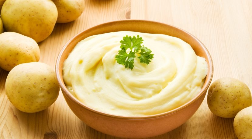 簡単!本格的な味わいのマッシュポテトの作り方:典型的なマッシュポテト