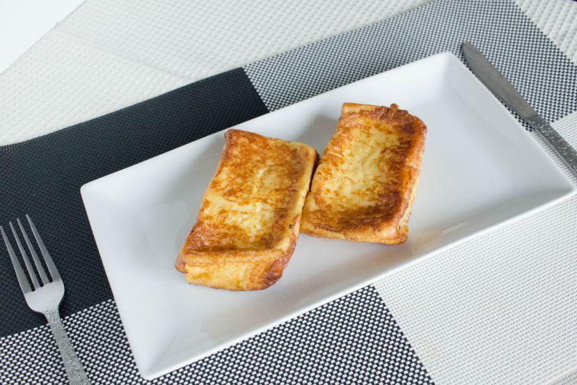 フレンチトーストの作り方:完成です