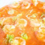 昆布水とケチャップで作る簡単エビチリのレシピと作り方:完成